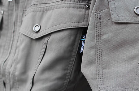 タカヤ商事の涼しい作業服『GC-2700』の通気性は特殊な織りと糸