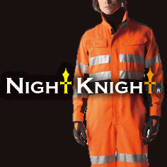 タカヤ商事の高視認安全服ナイトナイト